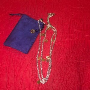 Tory Burch long strand necklace